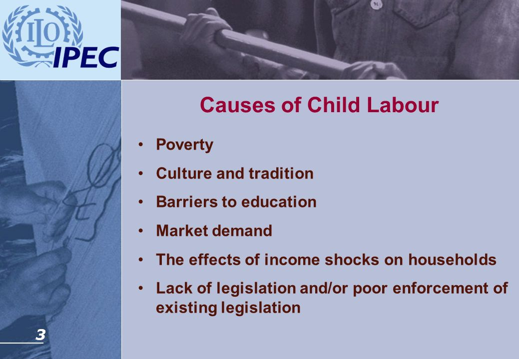 Causes of Child Labour Poverty Culture and tradition