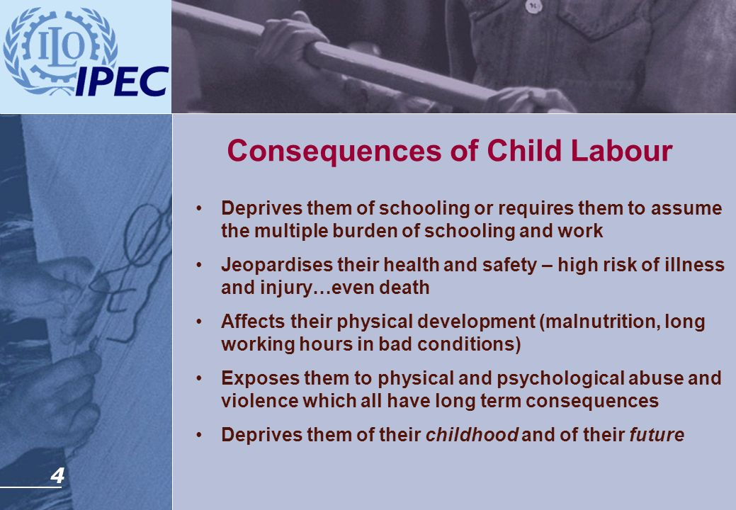 Consequences of Child Labour