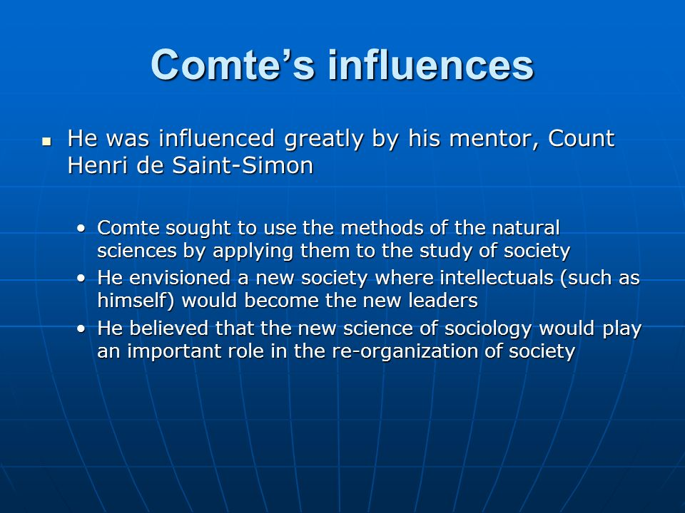 saint simon sociology