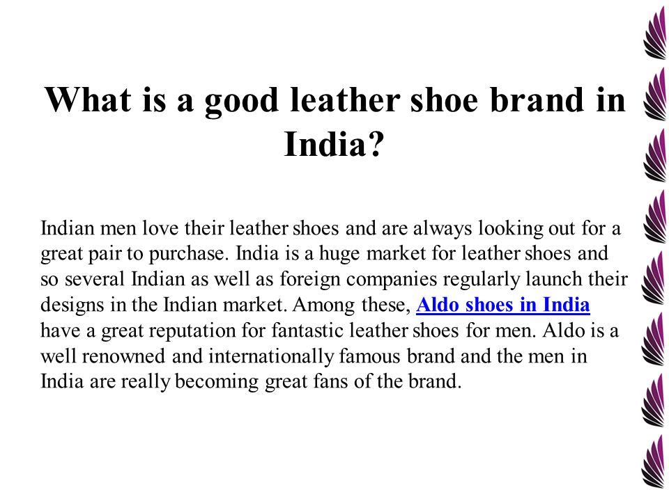 Conveniently Buy Aldo Shoes In India From Online Retail Stores Ppt