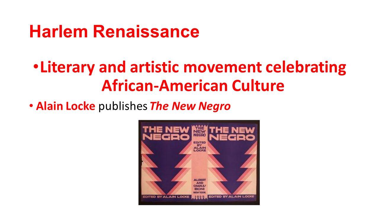 alain locke the new negro summary