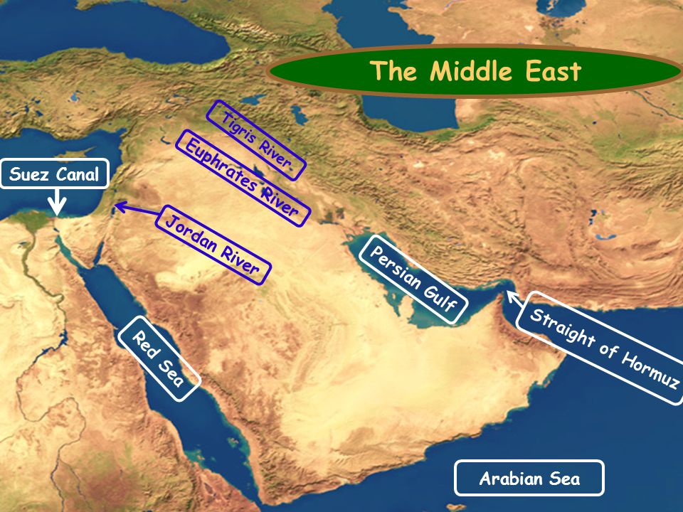 Tuesday; August 24, 2015 Agenda Message: Review your Southwest Asia ...