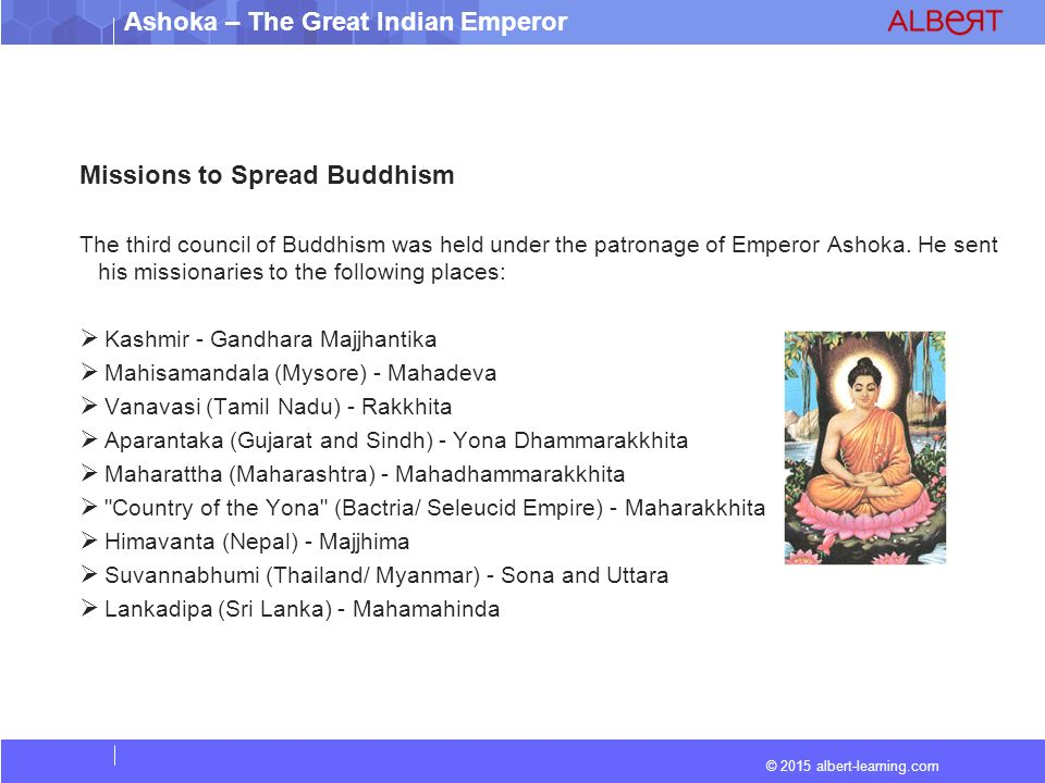 ashoka spread of buddhism