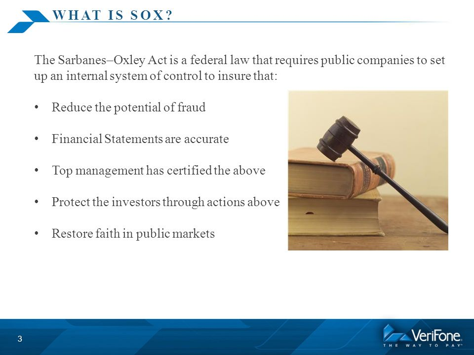 Sox Compliance Sox Section 302 Certification Ppt Video Online Download