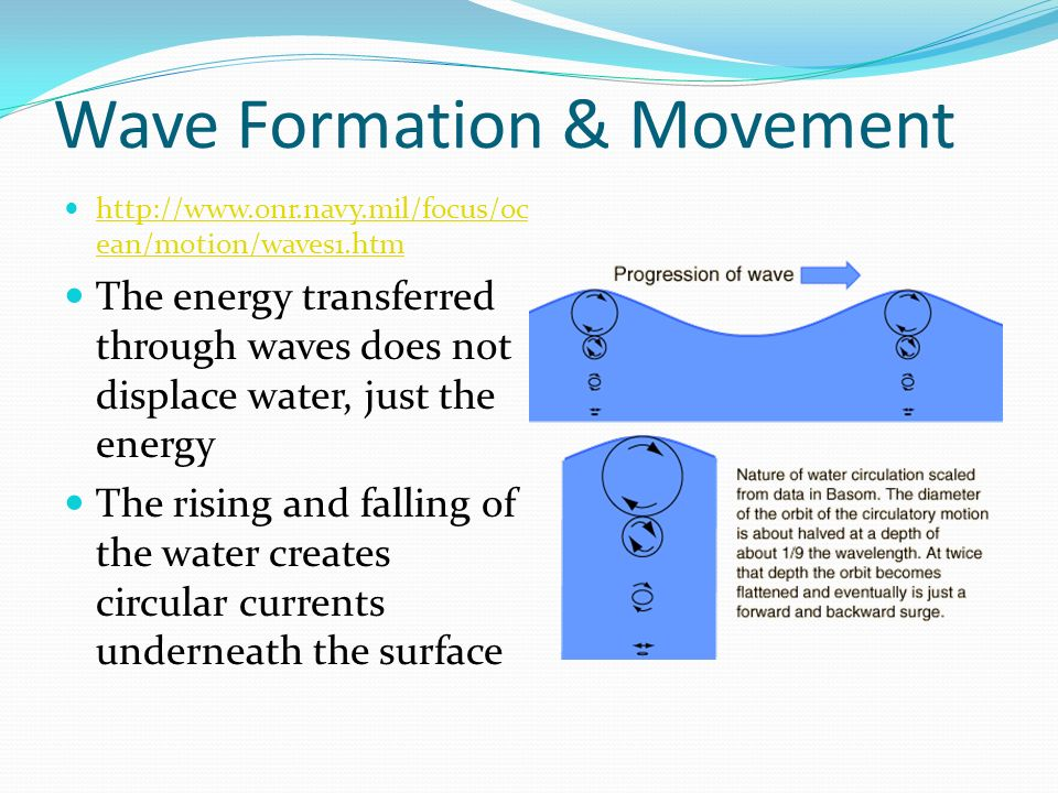 Chapter 14 Section 2 Ocean Waves Ppt Video Online Download