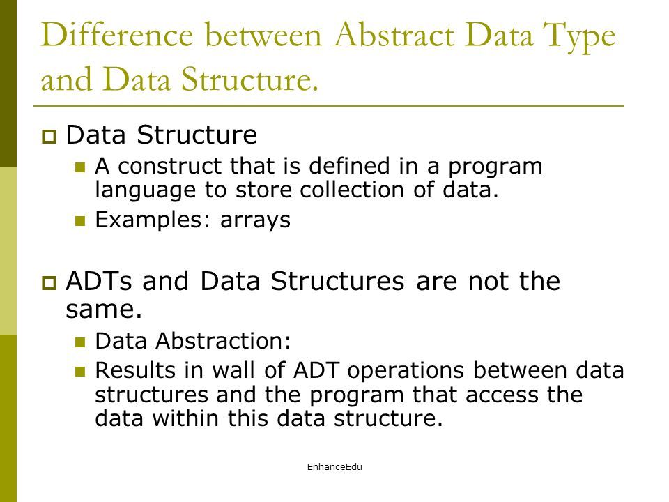 Key to data structure.