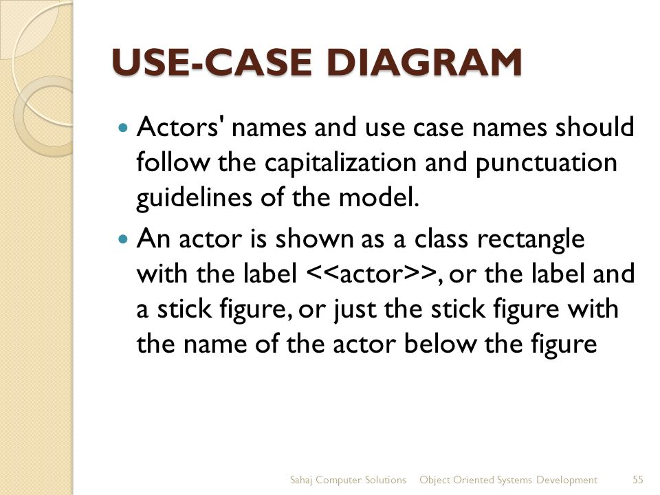 Unified modeling language ppt download 55 use case ccuart Choice Image