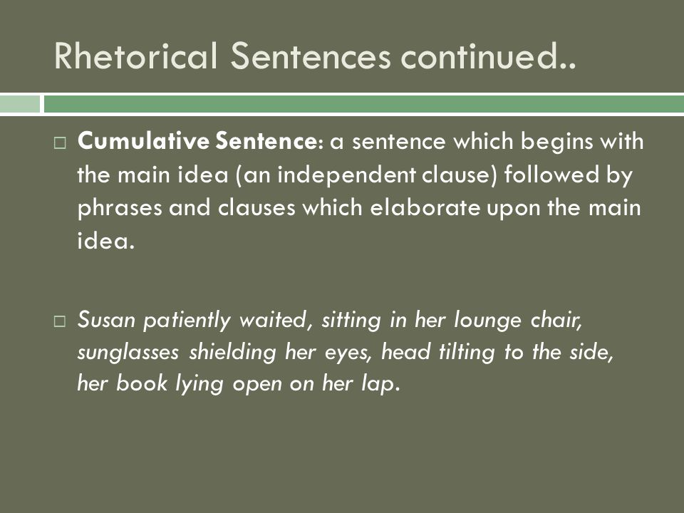 Sentence Construction And Its Effects Ppt Download