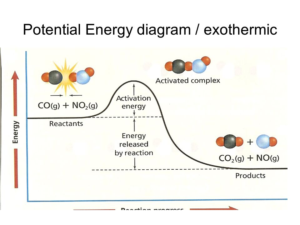 Potential Energy Diagram Exothermic Ace Energy