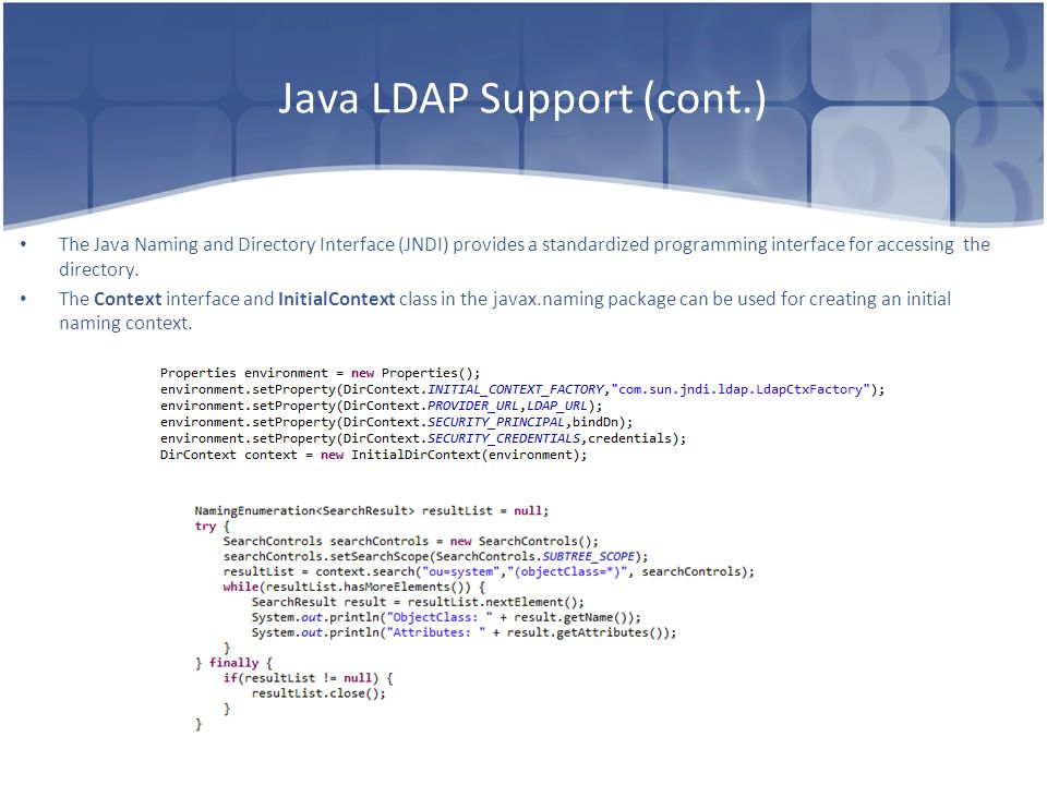 Spring LDAP Dima Ionut Daniel  - ppt video online download