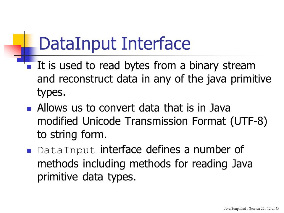 Session 22 java io Package  - ppt download