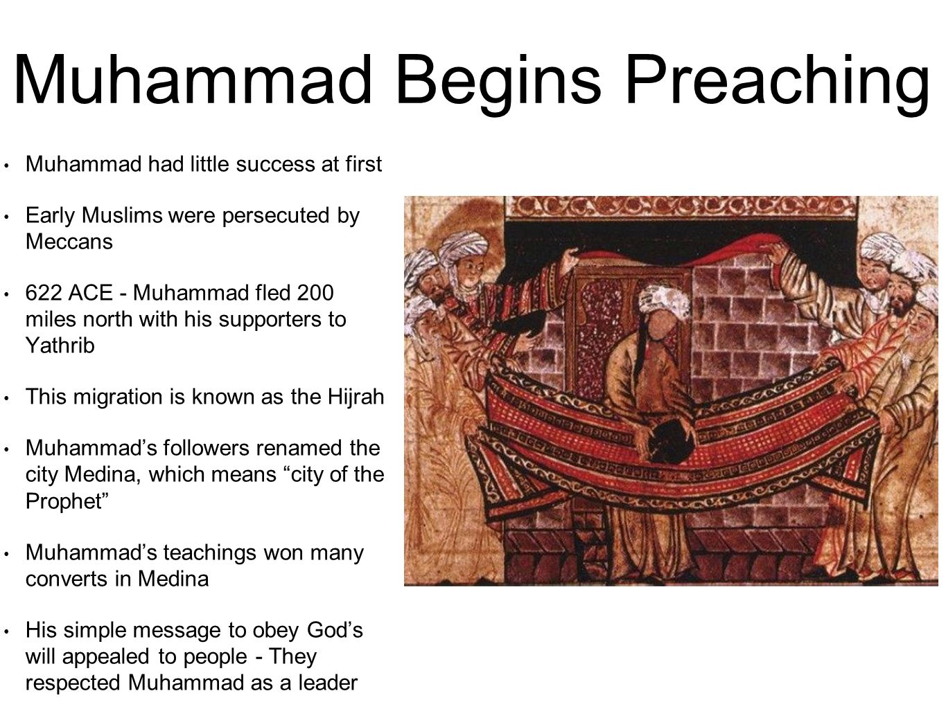 3 2 notes islam and muhammad ppt download