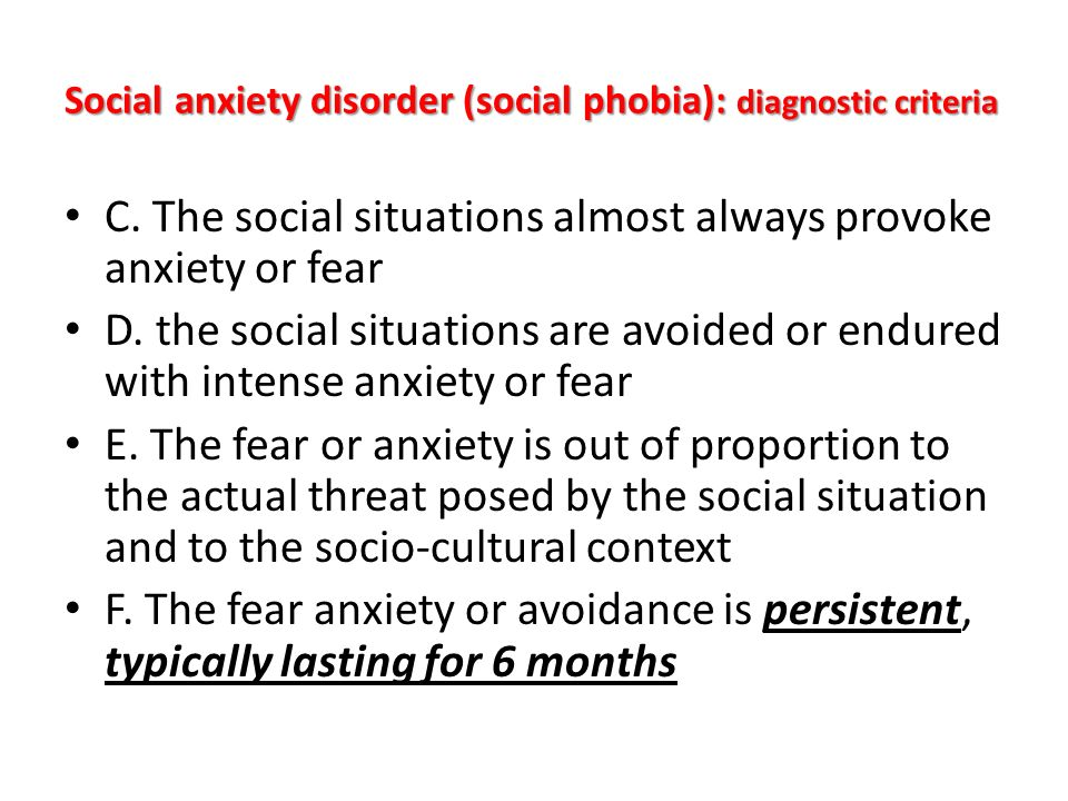 social anxiety disorder f40 10 Anxiety disorders are common in people of all ages they can range in severity from mild to debilitating thankfully, there is help available for according to the national institute of mental health, the fear and anxiety that occur due to an anxiety disorder are markedly different than the brief.