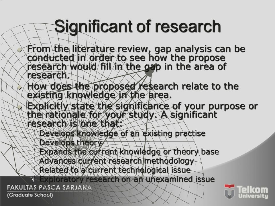 significance of research paper