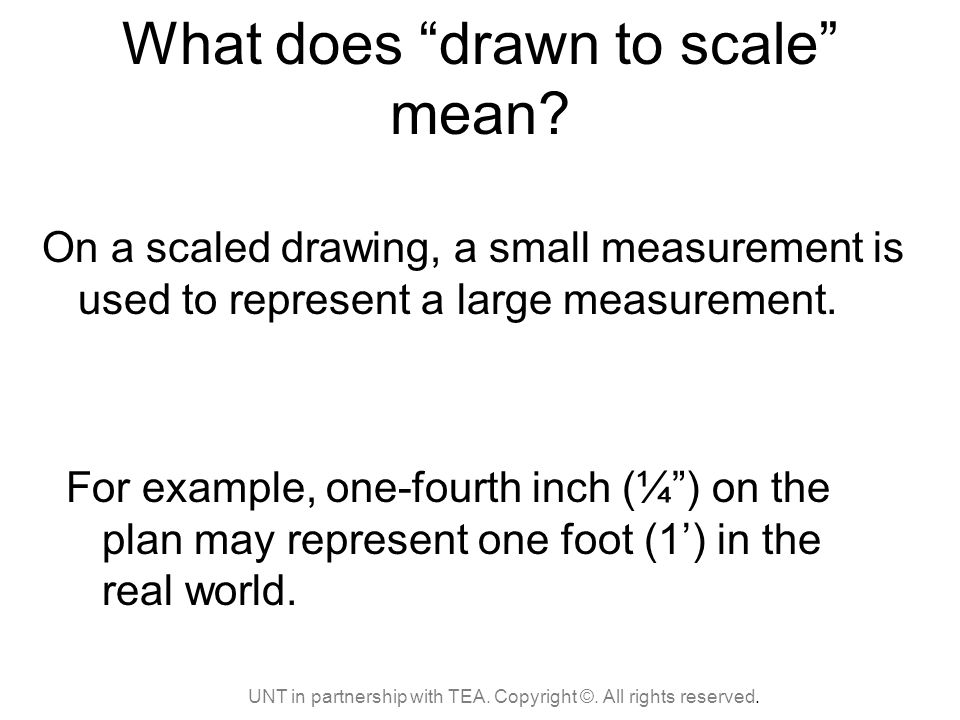 How to read an Architect's Scale - ppt video online download