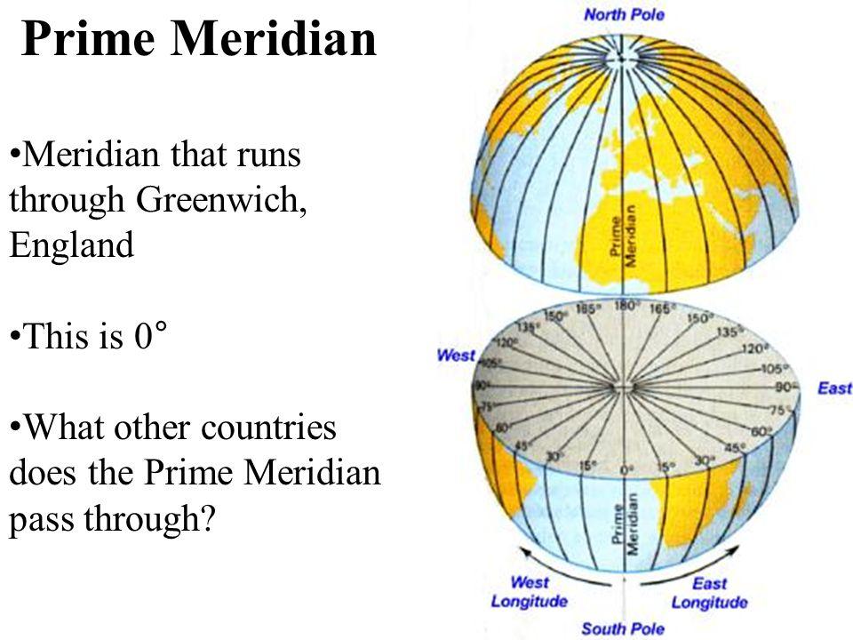 9 Prime Meridian ...
