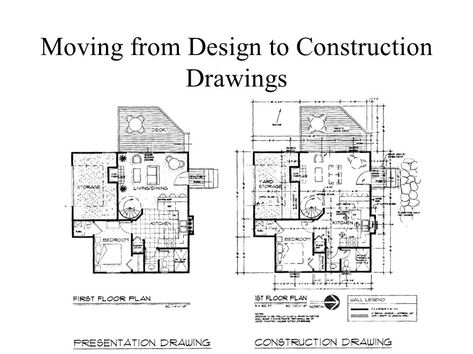Key to the set of Construction Drawings - ppt video online