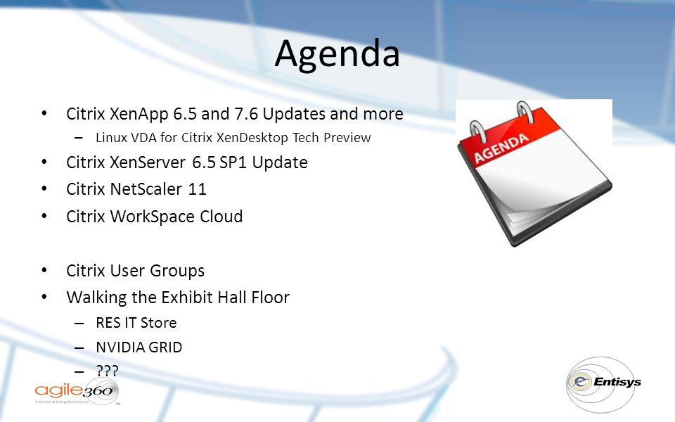 So you missed Citrix Synergy 2015… - ppt video online download