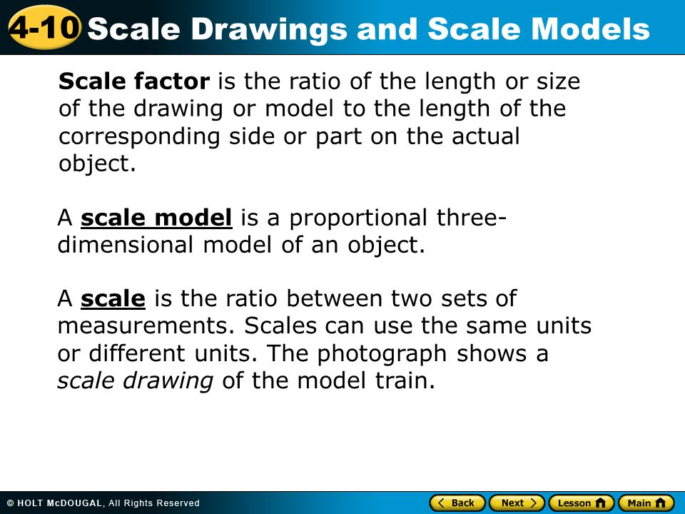 scale factor proportions