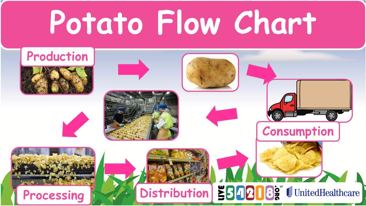 Food Systems Production Processing Distribution Consumption Process Flow Diagram For Jam Potato Chart