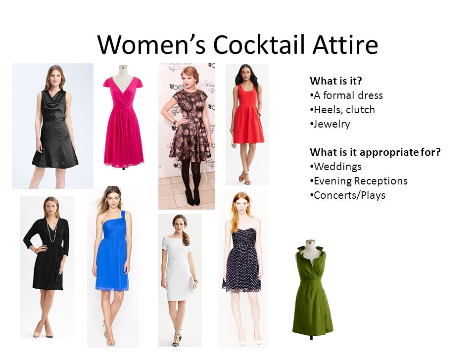 Professional Dress For Men Amp Women For All Occasions Ppt