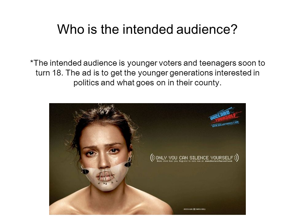ads for teenagers