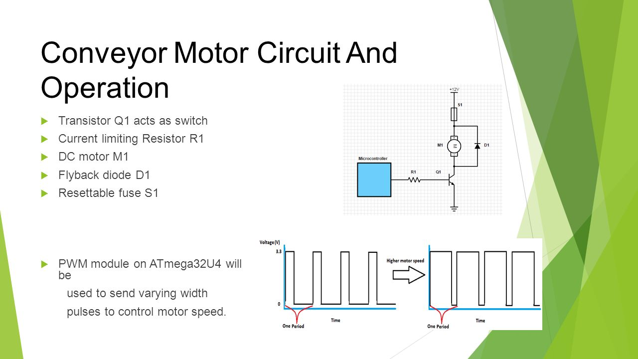 Group 33 Electronic Lego Sorter Ppt Video Online Download Motor Speed Controller Circuit That Can Be Used For Varying The Will To Send Width Pulses Control Conveyor And Operation