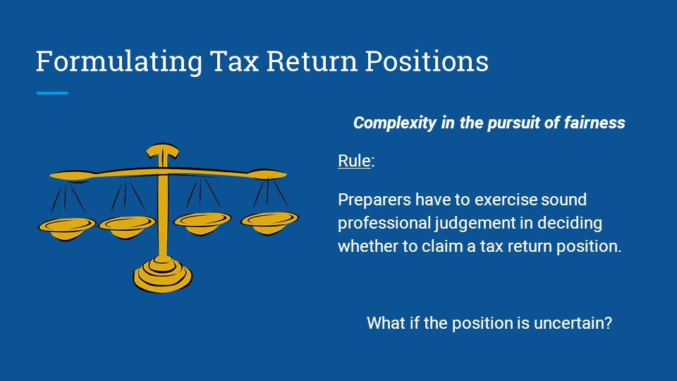 which of the following is included in the definition of a tax position? quizlet