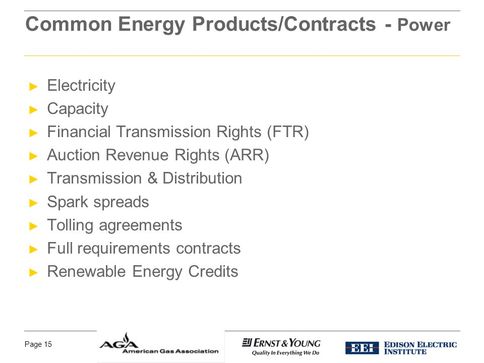 Common Energy Derivatives And Their Use To Manage Risk Ppt Download