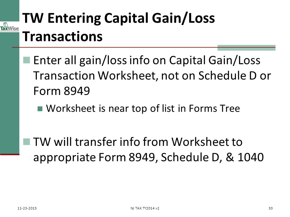 Capital gains losses including sale of home ppt download tw entering capital gainloss transactions ibookread Read Online