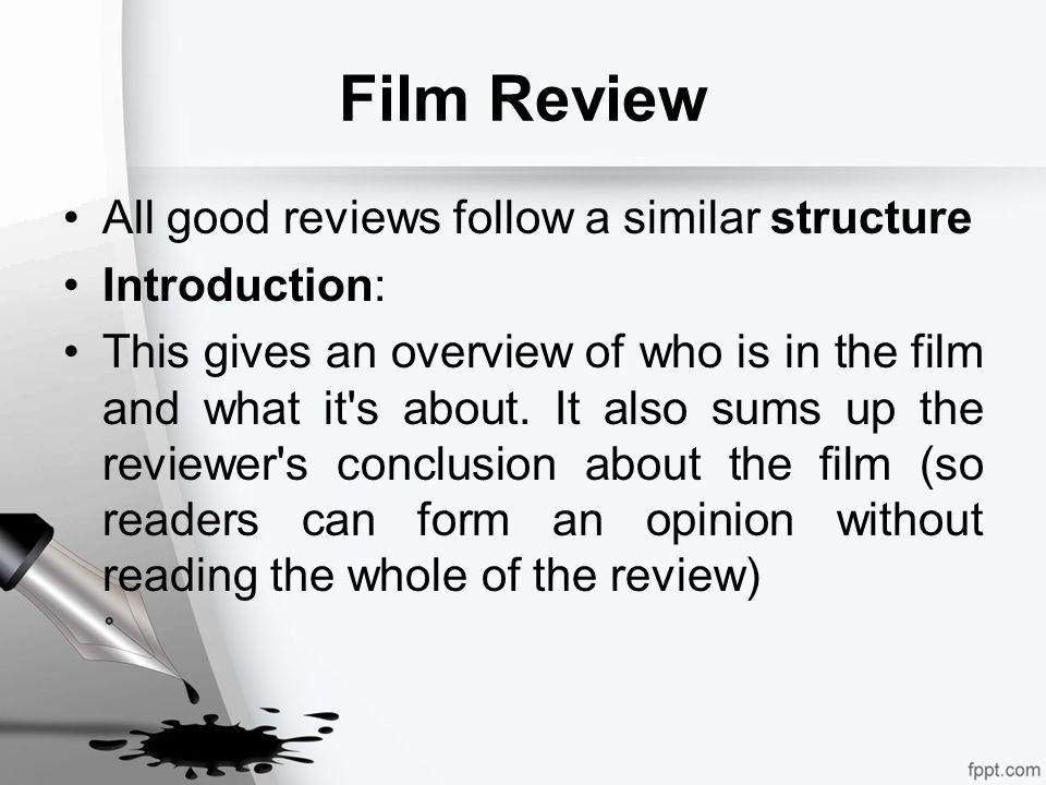 good film reviews