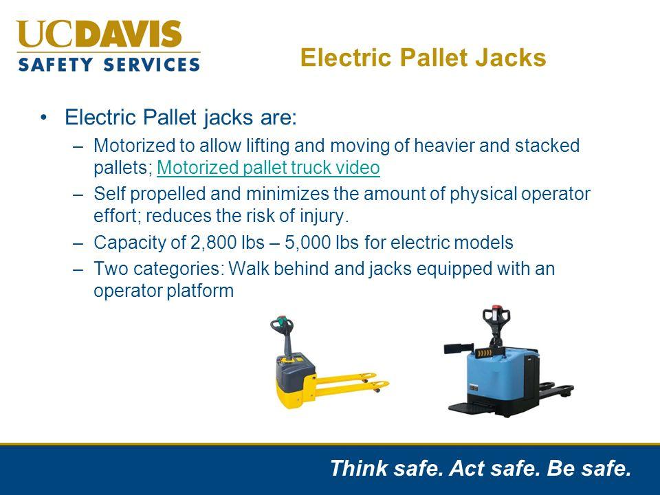 Manual Pallet Jack Safety Ppt Video Online Download