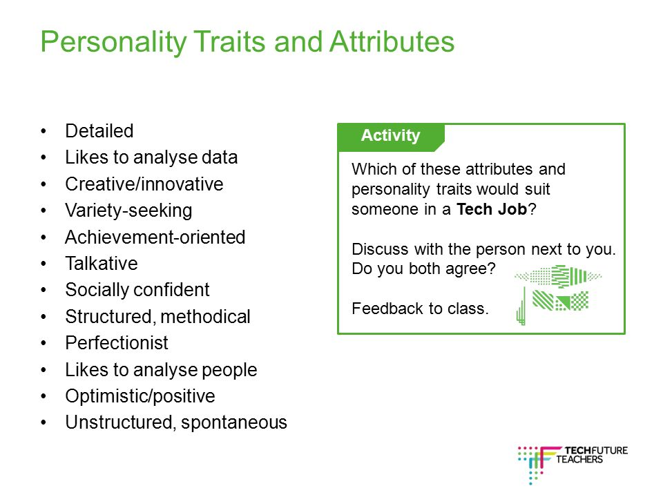 Part 1 Personality Traits And Attributes Ppt Video Online Download
