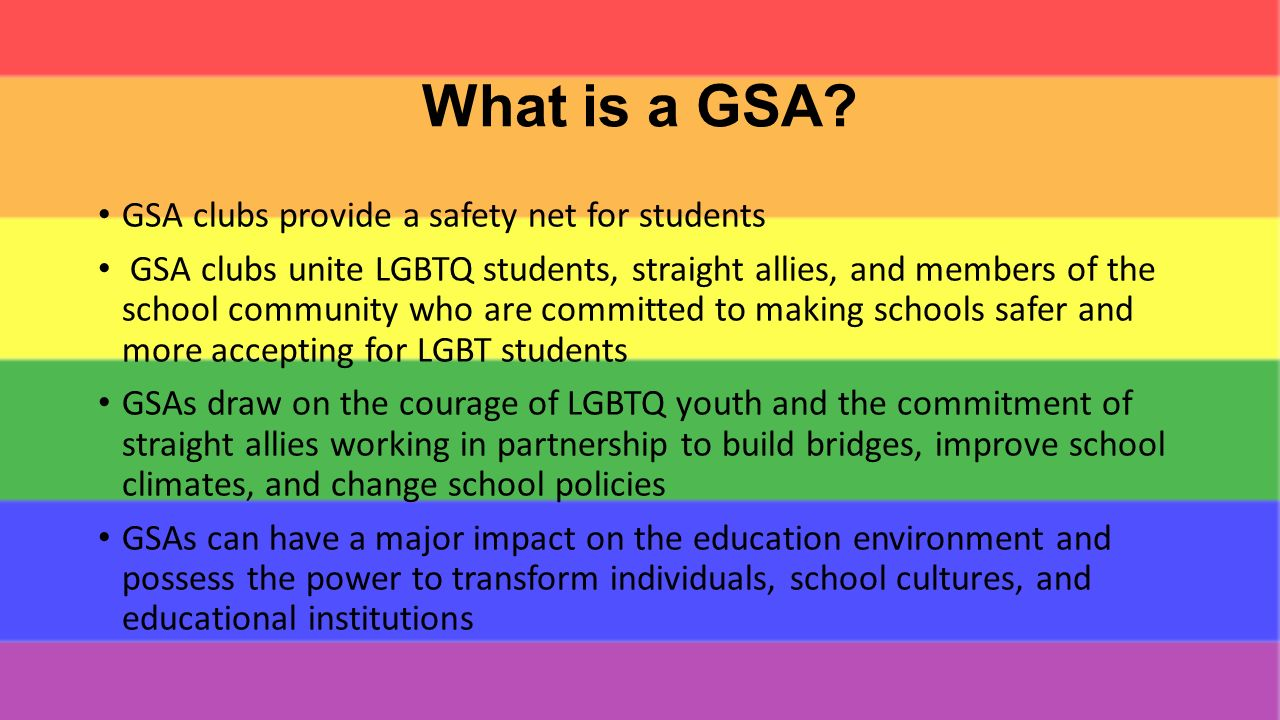 photo How to Start a GayStraight Alliance at Your School