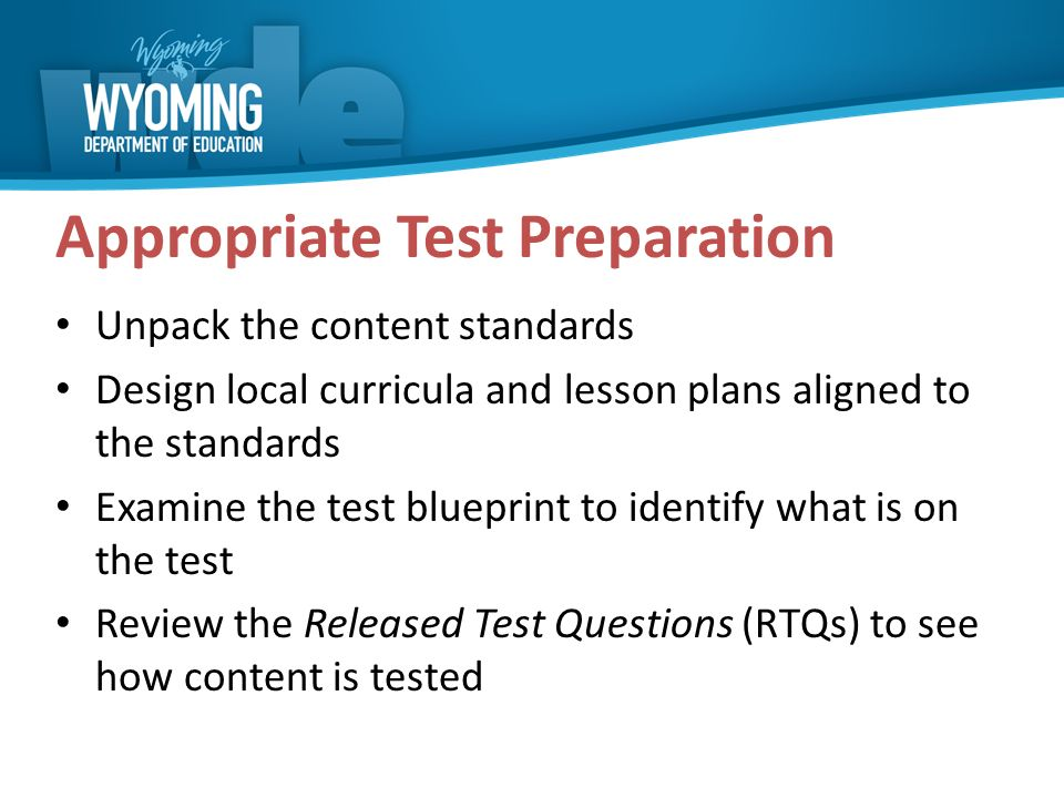 2016 paws test administrator training ppt download appropriate test preparation malvernweather Gallery