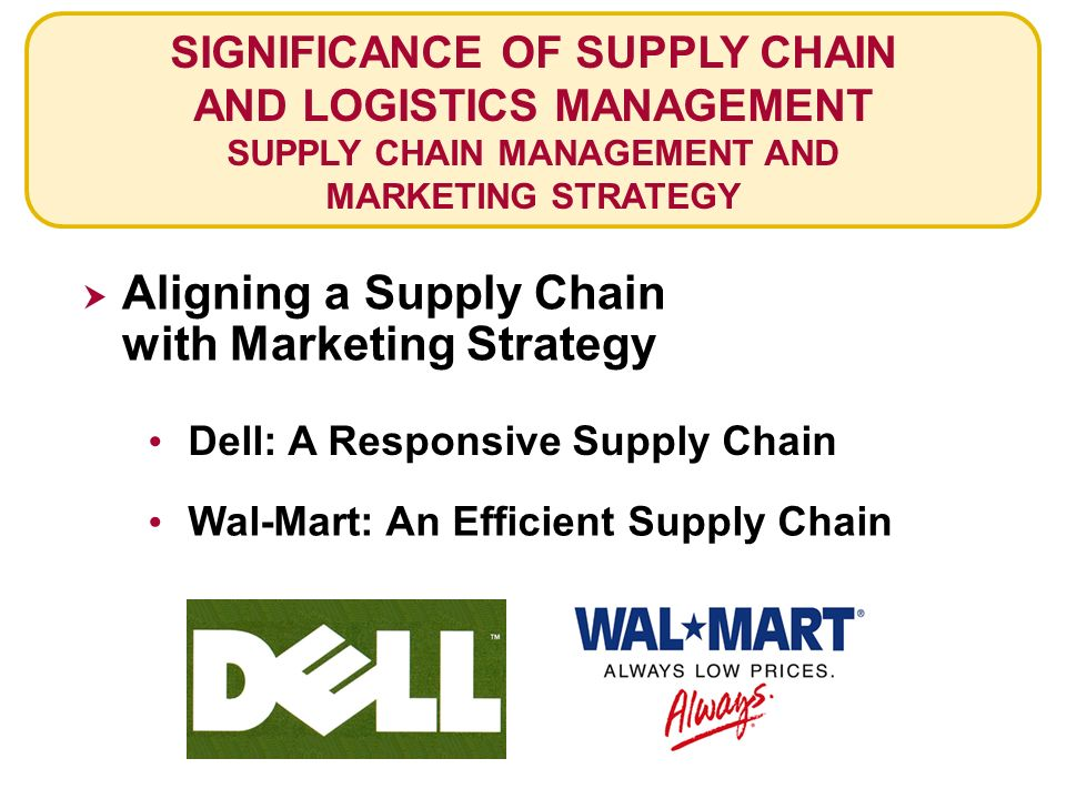 supply chain management marketing pdf