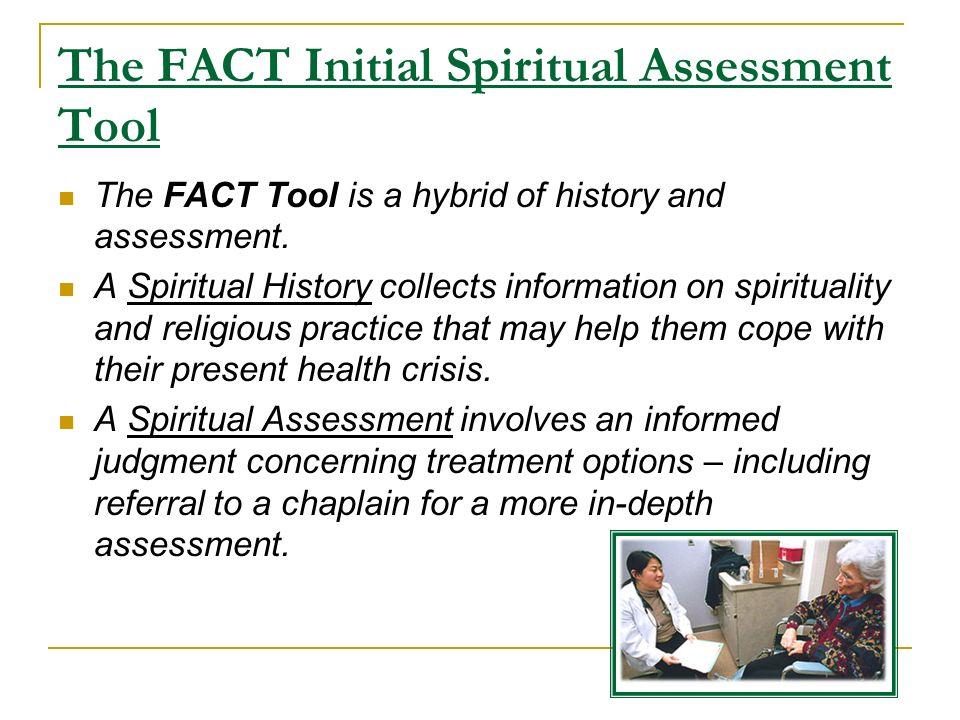 spiritual assessment tool for nurses