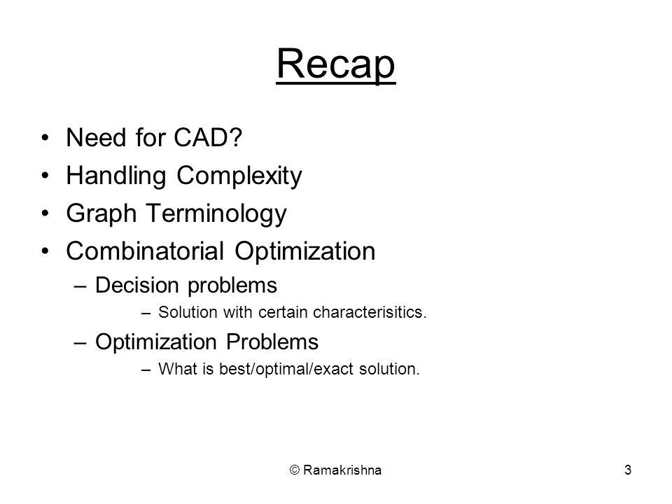 Ramakrishna Lecture#2 CAD for VLSI Ramakrishna - ppt download