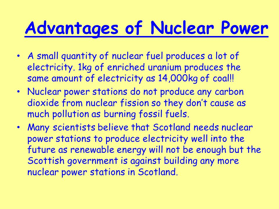 nuclear advantages and disadvantages pdf
