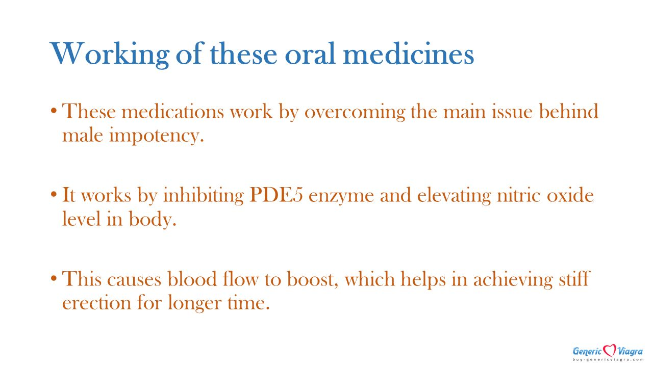 does nitric oxide work for ed
