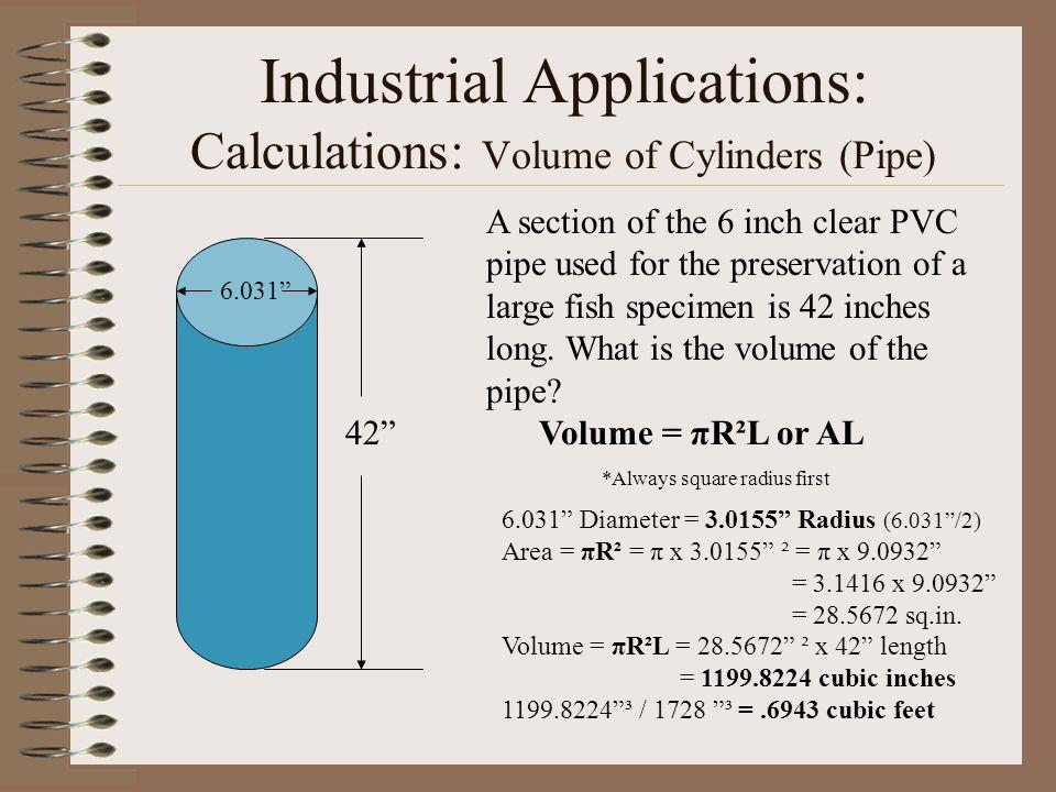 Volume: Descriptions, Calculations & Industrial Applications