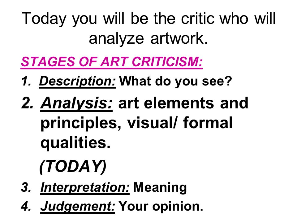 define interpretation in art