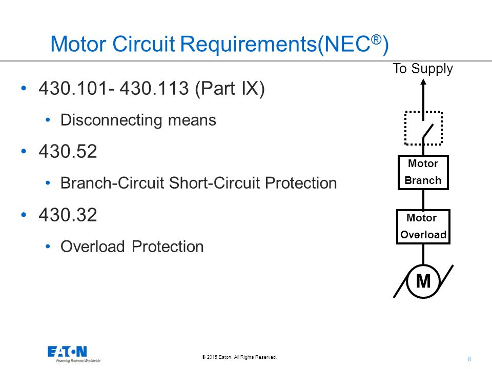 Suggestion on how to use ppt download 8 motor circuit requirementsnec greentooth Gallery
