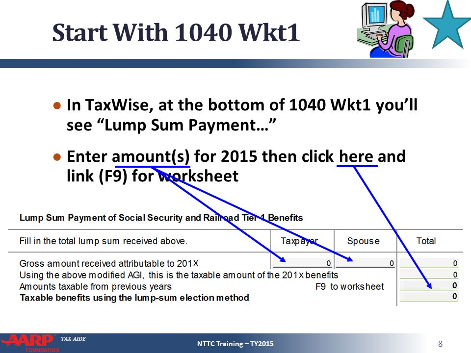 Social Security And Railroad Retirement Equivalent Ppt Video. Start With 1040 Wkt1 In Taxwise At The Bottom Of You'll. Worksheet. 1040 Social Security Worksheet At Clickcart.co
