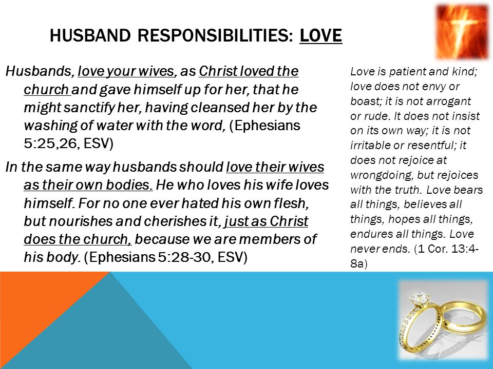 what is a christian husband