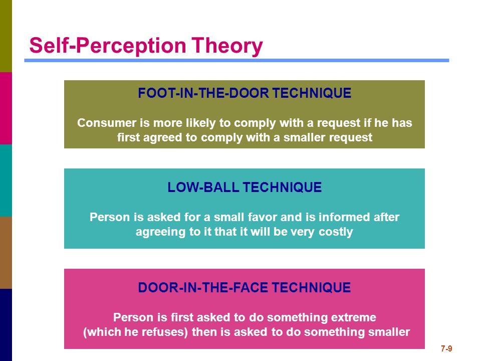9 self perception theory
