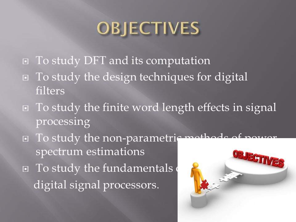 Digital Signal Processing - ppt video online download