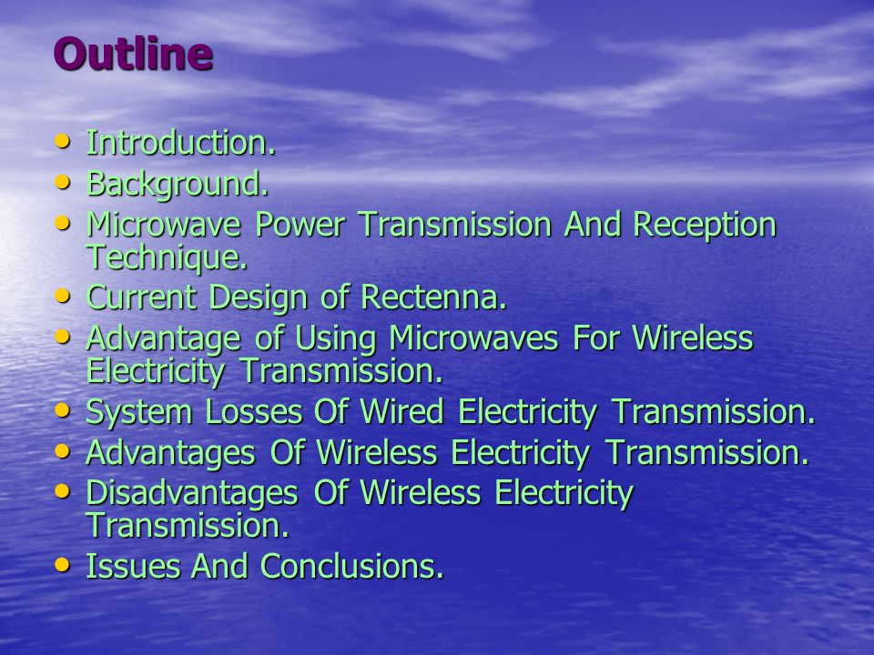 disadvantages of wireless electricity