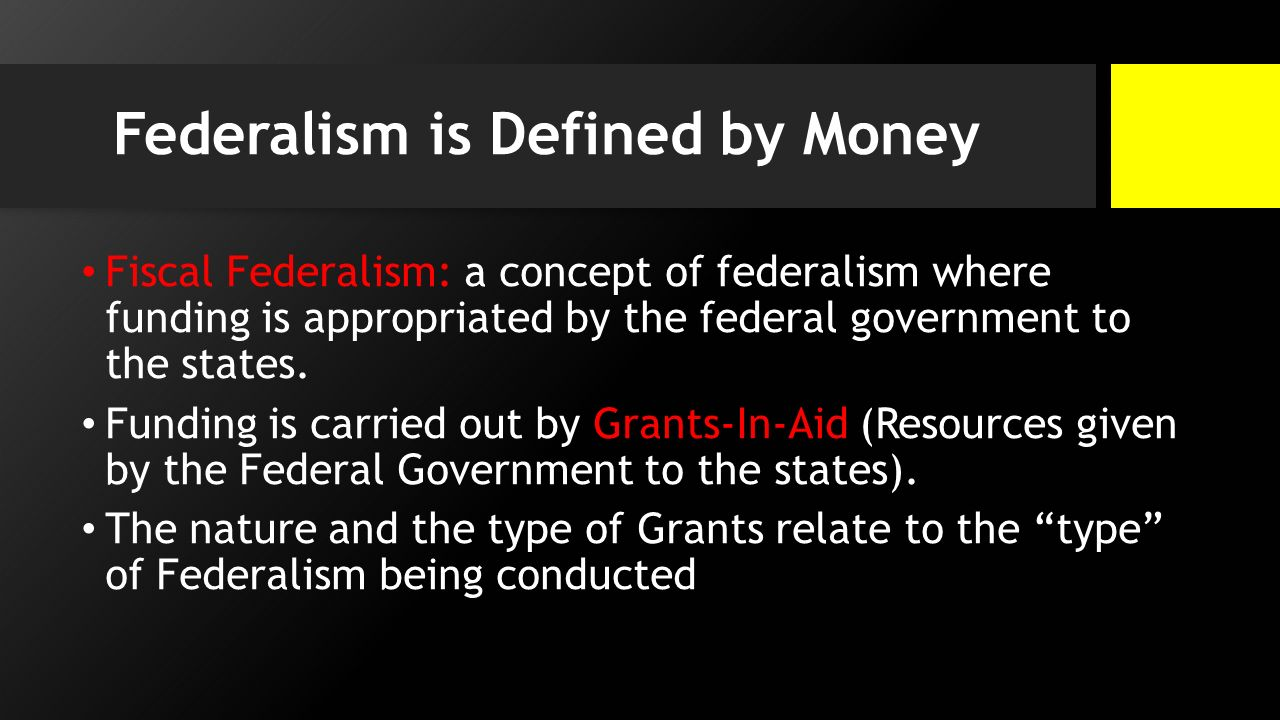 fiscal federalism. - ppt download