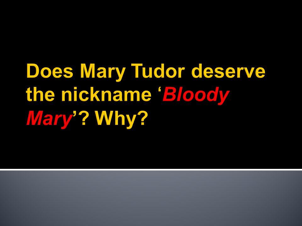 bloody mary essay